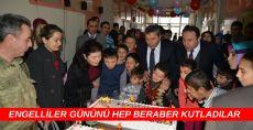 Erbaa Eğitim ve Uygulama Okulunda engellilerin doğum günü kutlandı.