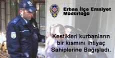 Erbaa İlçe Emniyet Müdürlüğü-Kurban Bayramı