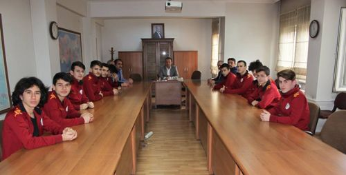 Erbaa Kaymakamı Karacan'a Ziyaret