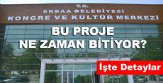Erbaa Kültür Merkezi Son Gelişmeler