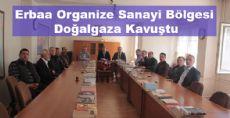 Erbaa Organize Sanayi Bölgesi Doğalgaza Kavuştu