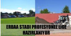 Erbaa Stadında Çalışmalar Tüm Hızıyla Devam Ediyor