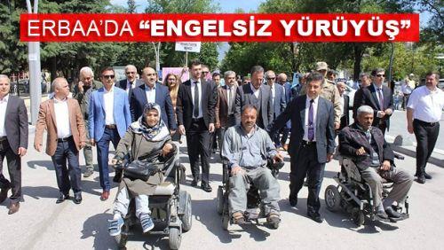 Erbaa'da 10-16 Mayıs Engelliler Haftası Etkinliği