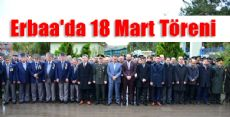 Erbaa'da 18 Mart Töreni