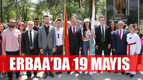 Erbaa'da 19 Mayıs Atatürk'ü Anma Gençlik ve Spor Bayramı