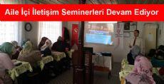 Erbaa'da Aile İçi İletişim Seminerleri Devam Ediyor