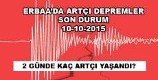 Erbaa'da Artçı Depremlerde Son Durum