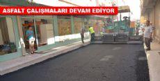 Erbaa'da Asfalt Çalışmaları Devam Ediyor