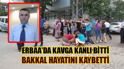 Erbaa'da Bıçaklı Kavga: 1 Ölü