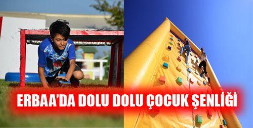 Erbaa'da Çocuk Şenliği