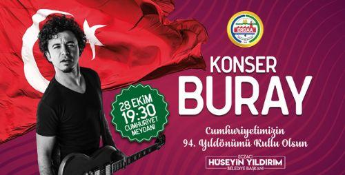 Erbaa'da Cumhuriyet Bayramı Konseri