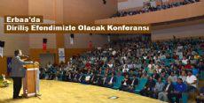 Erbaa'da Diriliş Efendimizle Olacak Konferansı
