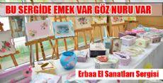 Erbaa'da El Sanatları Sergisi Açıldı