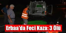 Erbaa'da Feci Kaza: 3 Ölü