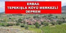Erbaa'da Hafif Deprem