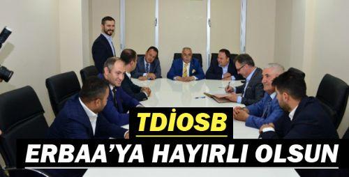 Erbaa'da İmzalar TDİOSB İçin Atıldı