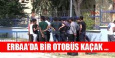 Erbaa'da Kaçak Göçmen Operasyonu