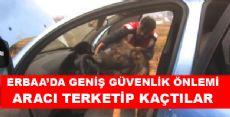 Erbaa'da Kaçan Araç Eroin Deposu Çıktı