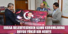 Erbaa'da Kamu Kurumlarına 15 Temmuz Hediyesi
