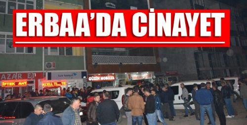 Erbaa'da Kavga Kanlı Bitti