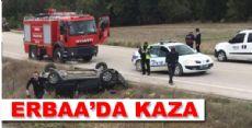 Erbaa'da Kaza