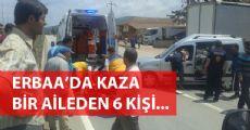 Erbaa'da Kaza Yine Bir Aile