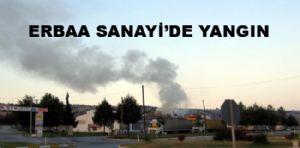 Erbaa'da Kereste Atölyesinde Yangın