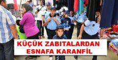 Erbaa'da Küçük Zabıtalar İş Başında