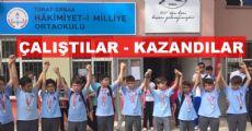Erbaa'da Madalya Heyecanı