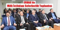 Erbaa'da Milli İstihdam Seferberlik Toplantısı Düzenlendi
