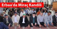 Erbaa'da Miraç Kandili