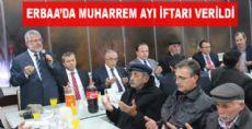 Erbaa'da Muharrem Ayı İftarı Verildi