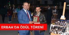 Erbaa'da Ödül Töreni