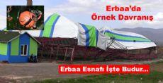 Erbaa'da Örnek Davranış