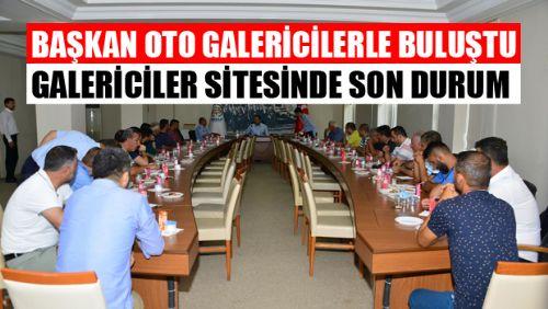 Erbaa'da Oto Galericiler Sitesi İnşaatında Son Durum