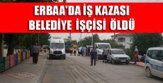 Erbaa'da Silindirin Altında Kalan İşçi Öldü