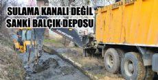 Erbaa'da Sulama Kanalları Temizleniyor