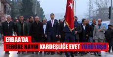 Erbaa'da TERÖRE HAYIR Yürüyüşü