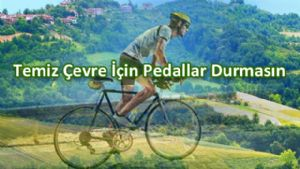 Erbaa'da 'Temiz çevre için pedallar durmasın' projesi