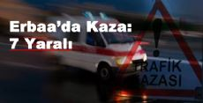 Erbaa'da Trafik Kazası:7 YARALI
