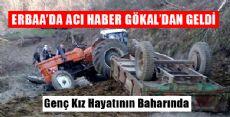 Erbaa'da Traktör Kazası: 1 Ölü
