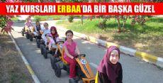 Erbaa'da Yaz Kursları Devam Ediyor