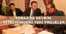 Erbaa'da Yeni Projeler