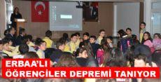 Erbaa'da  Deprem Bilinci Eğitimleri Devam Ediyor