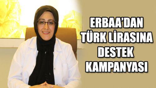 Erbaa'dan Türk Lirasına Destek Kampanyası