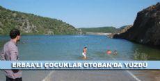 Erbaa'lı Çocuklar Otoban'da Yüzdü