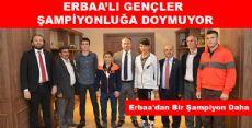 Erbaa'lı Gençler Bir Bir Şampiyon Oluyor