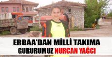 Erbaa'lı Nurcan Milli Takımda