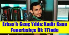 Erbaa'lı Genç Yıldız Fenerbahçe'ye İmza Attı
