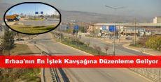 Erbaa'nın En İşlek Kavşağına Düzenleme Geliyor